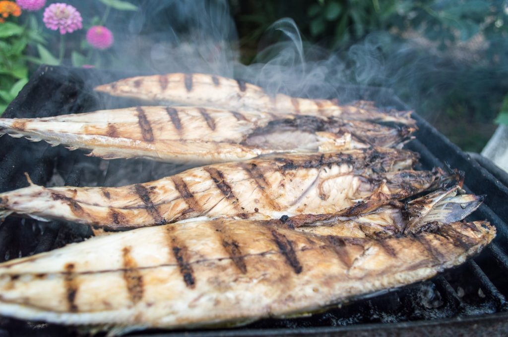 Grilled fish as a source of beta alanine.